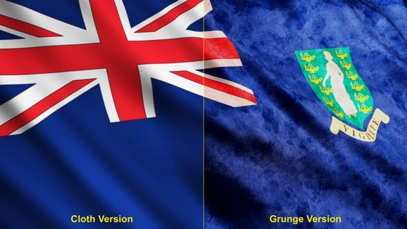 British Virgin Islands Flags