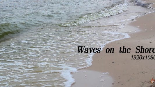 Cover Image for Waves On The Shore