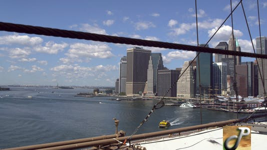 Thumbnail for Downtown Manhattan From The brooklyn Bridge