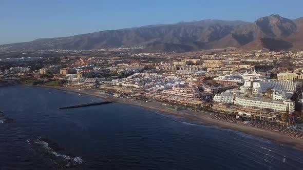 Thumbnail for Aerial View of Playa De Las Americas, Tenerife