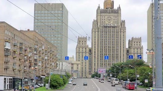 Thumbnail for Soviet Era Buildings, Moscow, Russia