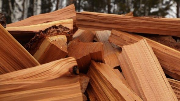 Thumbnail for Panoramic Close-Up Firewood 3