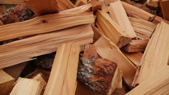 Thumbnail for Panoramic Close-up Firewood 4