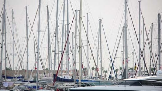 Cover Image for Yatchs in Marina, Bodrum, Turkey