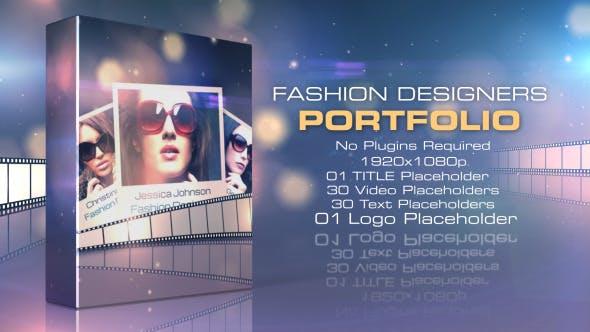 Fashion Designers Portfolio