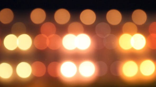 Thumbnail for Amusement Park Lights Bokeh Background