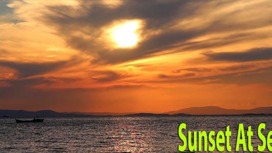 Thumbnail for Sunset At Sea