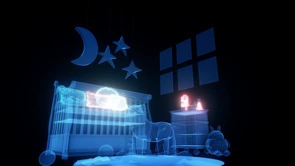 Kids Bedroom Hud Hologram Hd