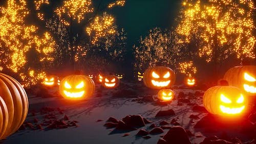Halloween Scary Forest