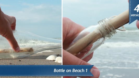 Thumbnail for Bottle on Beach
