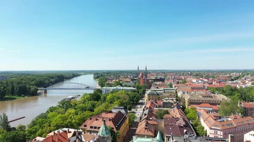 Blue Sky in Szeged