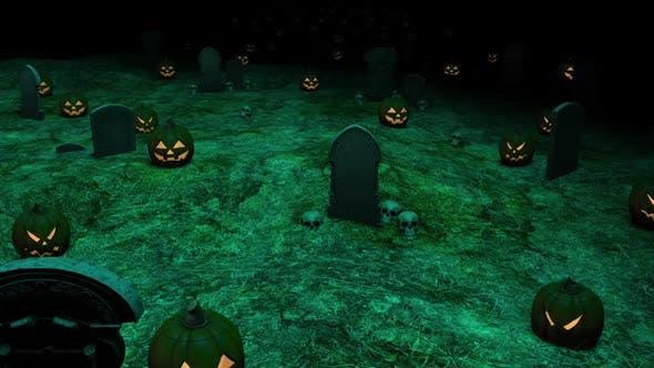 Thumbnail for Halloween Tomb Pumpkin Hd