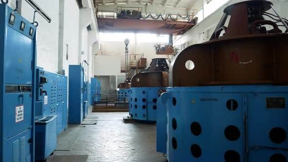 Thumbnail for Water Treatment Plant. Pump with a Capacity of 7000 M3 of Water Per Hour. Treatment Facilities