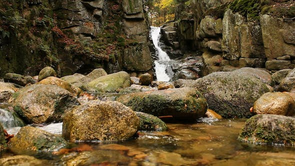 Mountain Waterfall