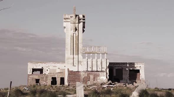 Thumbnail for Old abandoned Slaughterhouse in Epecuen, Ghost Town in Argentina.