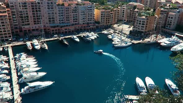 Thumbnail for Aerial View Skyline Monaco Luxury Yachts 3