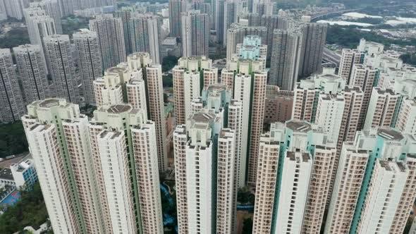 Thumbnail for Hong Kong real estate from top
