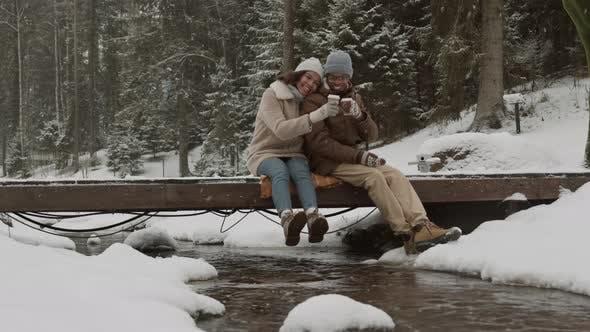 Thumbnail for Loving Couple Having Pleasant Walk