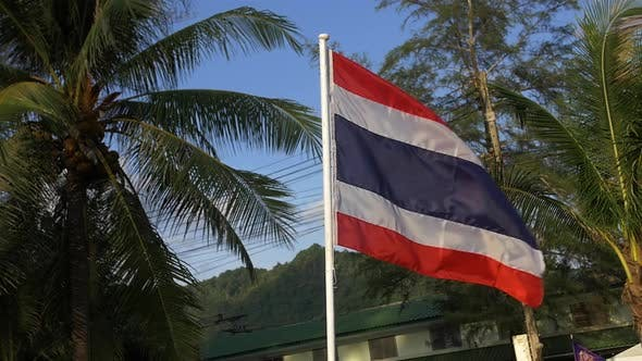 Cover Image for Thailand Flag