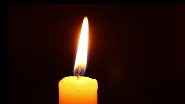 Candle Flame in the Wind Candle