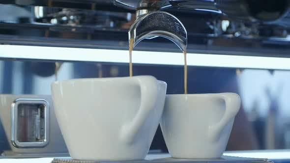 Thumbnail for Espresso Pouring Into a Cup