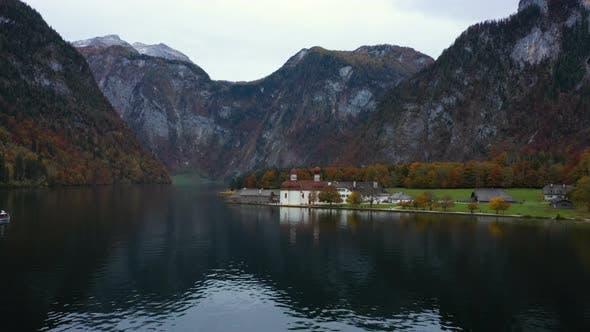 Thumbnail for Saint Bartolomew Church At The Konigsee Lake