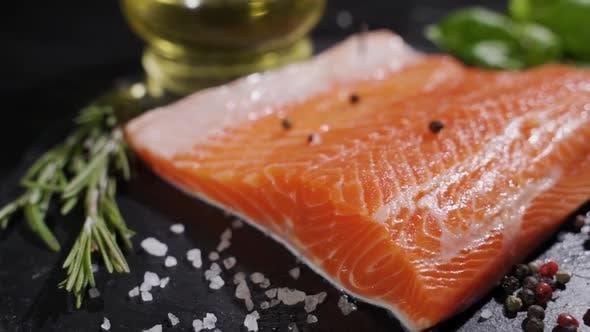 Thumbnail for Fresh Salmon Ready To Cook