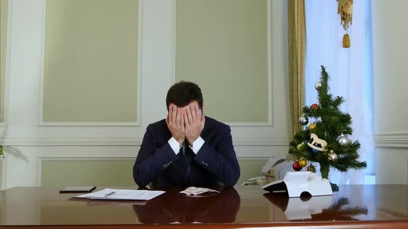 Thumbnail for Failed Businessman Losing Money Before Christmas