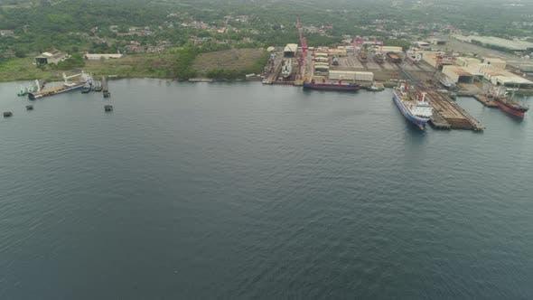 Thumbnail for Shipyard with crane,Batangas, Philippines, Luzon