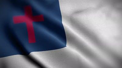 Christian Flag Angle