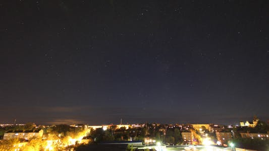 Thumbnail for Starry Sky Over The City (2 in 1)
