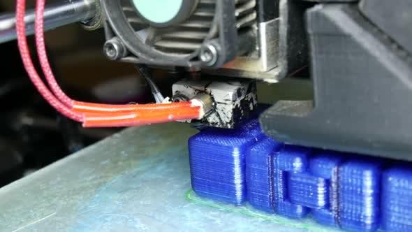 Thumbnail for Modern Production 3 D Printer
