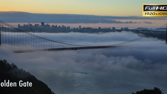 Thumbnail for Golden Gate Time Lapse