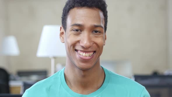 Thumbnail for Portrait Of Smiling Black Man