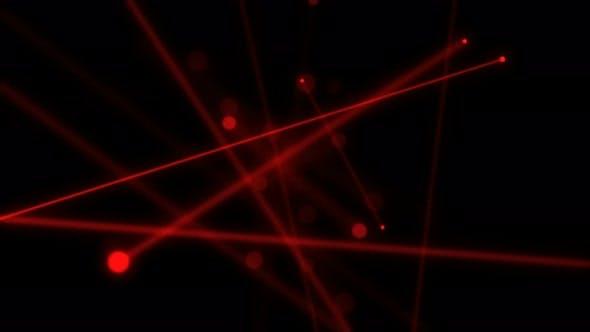 Rote Laser 4K
