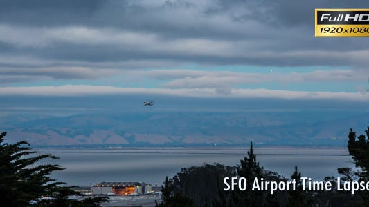 San Francisco Airport Time Lapse