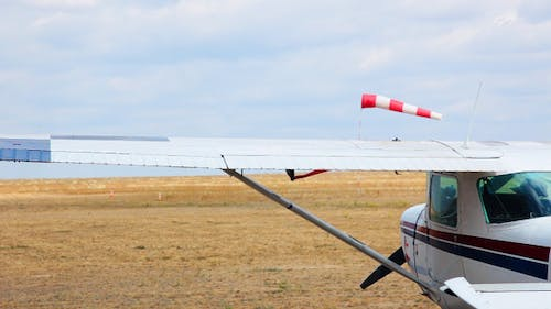 Airfield In The Steppe