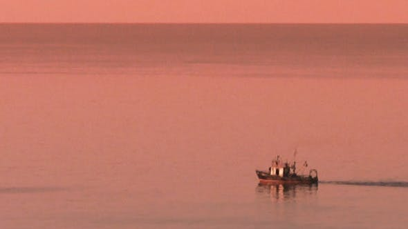 Thumbnail for Boat At Sunset