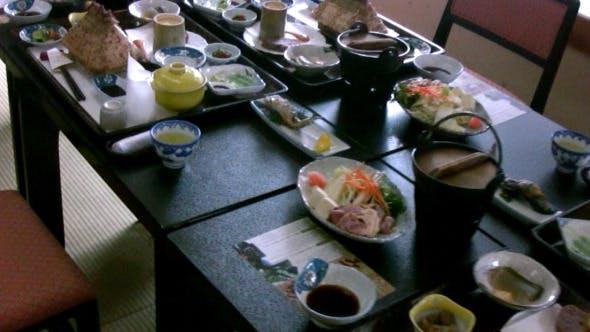 Thumbnail for Japanese Restaurant Table