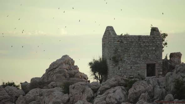 The Landmark of Milocer. Montenegro. The Balkans.