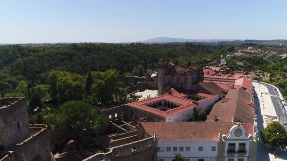 Thumbnail for Flight Convent of Christ in Tomar, Portugal