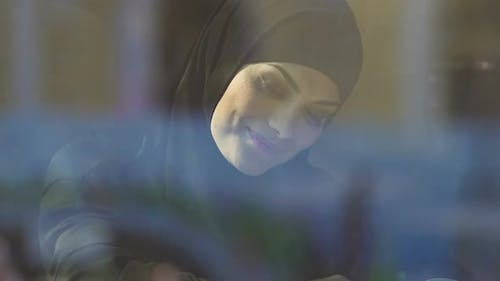 Happy Muslimah Reading Book, Accessible Education for Islamic Women, Equal Right