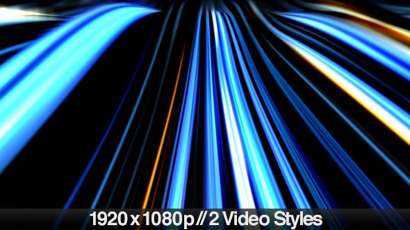 Thumbnail for Abstract Neon Wave Lines on Dark Background