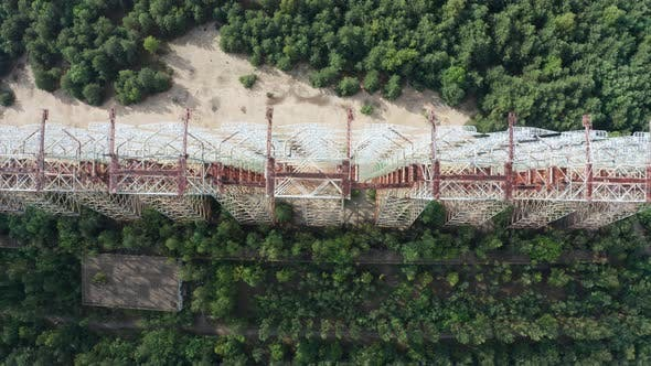 Thumbnail for Top View of Duga, Radar System Near Chernobyl