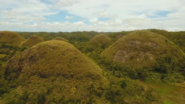 Cover Image for Landscape with Green Hills Bohol, Philippines