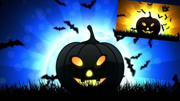 Thumbnail for Halloween Pumpkin 2 Background