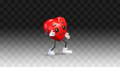 Heart is dancing a simple dance