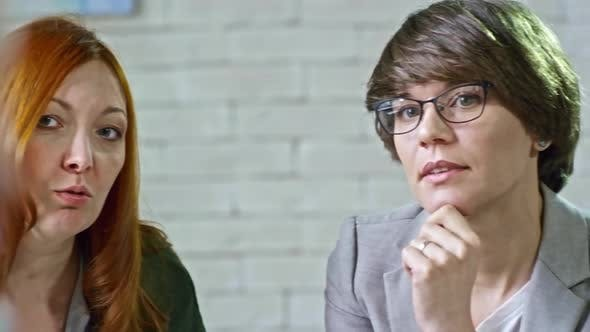 Thumbnail for Mother Discussing Problems with Psychotherapist