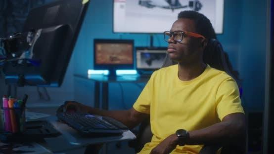 Thumbnail for Video Game Developer at Work