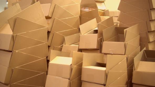 Lager mit Verpackungsmaterial